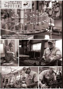 Pédales MKS Factory, visite de l'usine au Japon