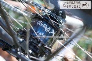 Moyeu Rohloff pour vélo de voyage la fourmi