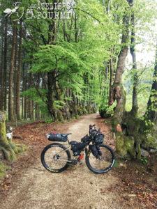 ECR Rohloff de Paul avec son équipement full Bikepacking